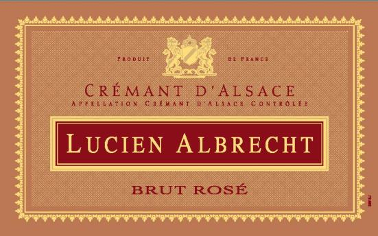 Cremant Rose Label